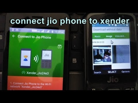 xender in jio phone