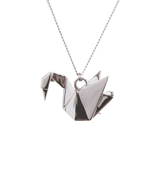 Picture of Collier cygne argent