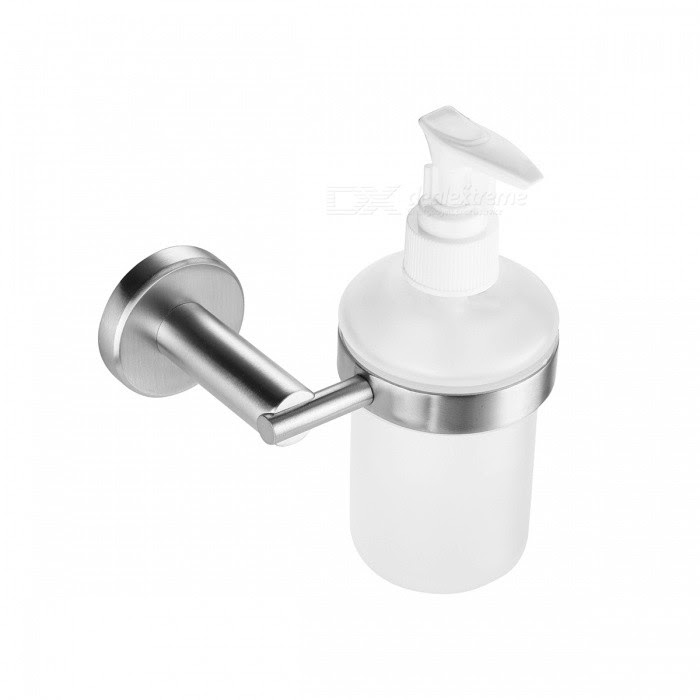 Sbh075 Sus304 Round Shape Stainless Steel Wall Mounted Liquid Soap