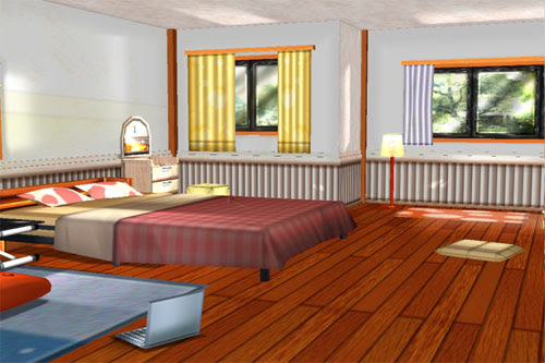 MMD Girl's Room