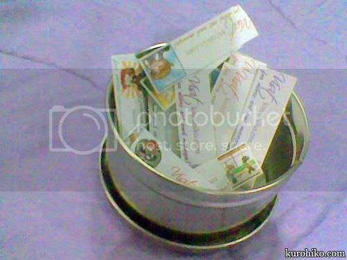 7th philippine komikon 2011 - free mini cards from kurohiko