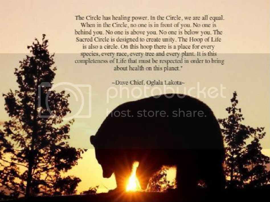 Circle Has Healing Power