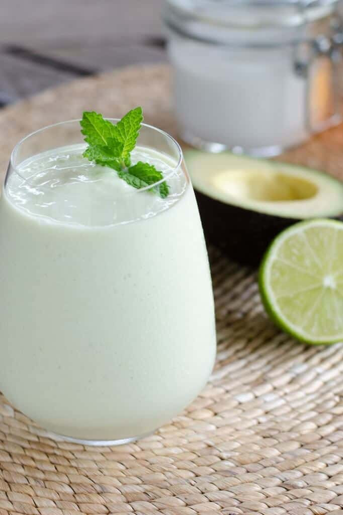 Even though this paleo key lime pie smoothie is gluten-free, dairy-free and egg-free, it's decadent enough for dessert. And it's faster than baking a pie.   cookeatpaleo.com