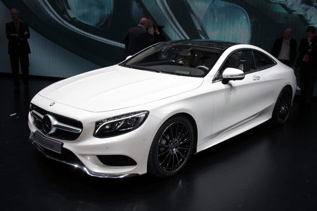 Mercedes S-Class Coupe Throws an (Active) Curve Mercedes ...