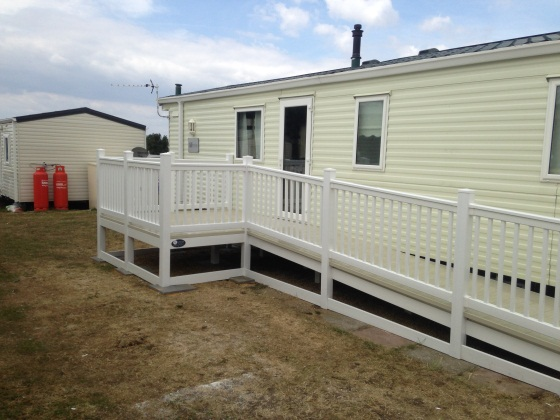 Caravan Decking Allhallows Kent