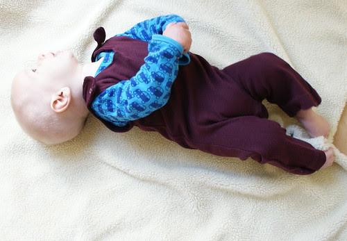 mijn zoon in paars