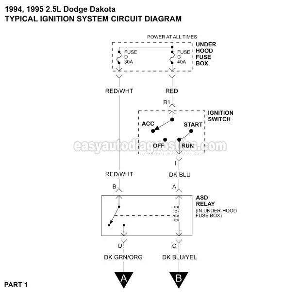 1994 Dodge Dakota Spark Plug Wiring Diagram Wiring Diagram Productive Productive Zaafran It