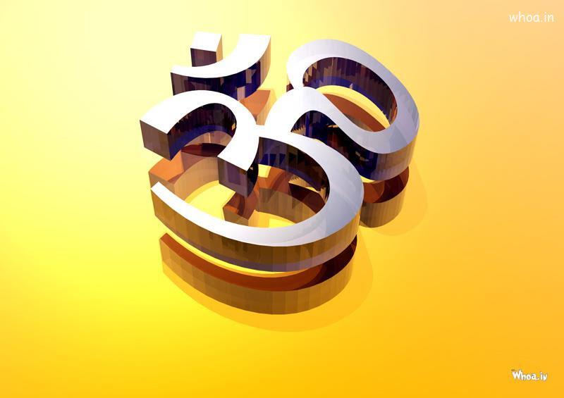 3D Om Symbol Hd Wallpaper