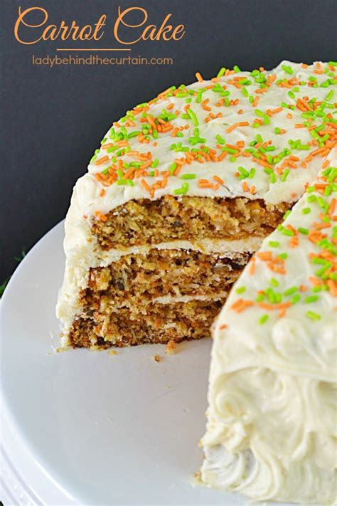 Moist Carrot Cake Recipe Recipe ? Dishmaps
