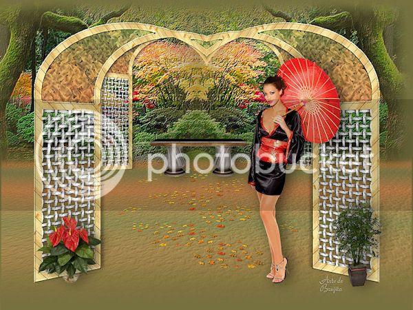 Brujita- En el jardín de mis amores by Adrimar
