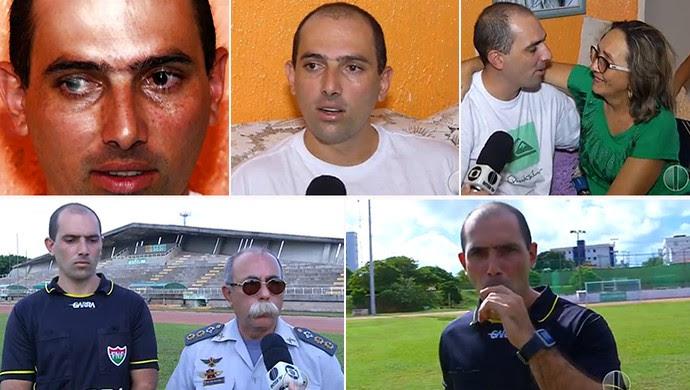 Leandro Sales - árbitro (Foto: Reprodução//Inter TV Cabugi)