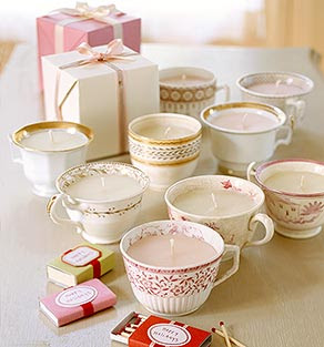 Teacup Candle Favors :  wedding candles diy favors Teacup teacup.jpg