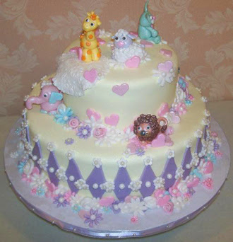 Pin Baby Shower Zoo Cakes Monkey Cake on Pinterest