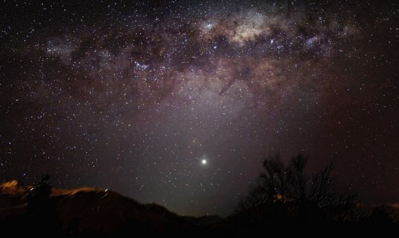 Astrophoto: The Milky Way and Venus over Andes