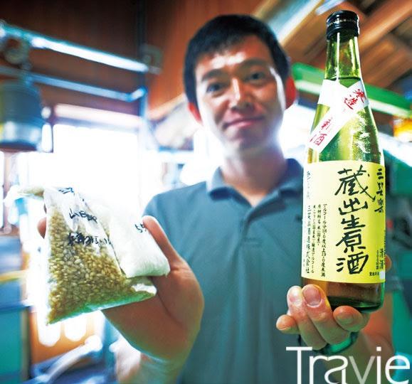 쌀과 물, 효모만으로 만드는 사케는 어떤 쌀을 사용했느냐에 따라 술맛이 완전히 달라진다.
