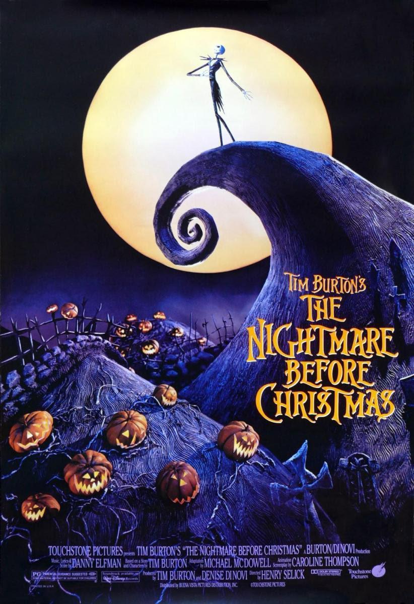 póster pesadilla antes de Navidad