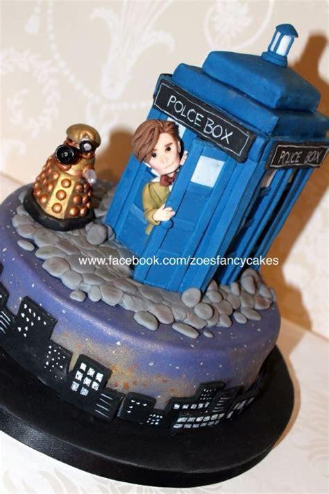 Doctor Who Tardis Cake   fondant  ?eker hamuru in 2019