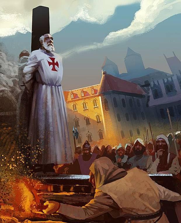 Resultado de imagen para viernes 13 y los templarios