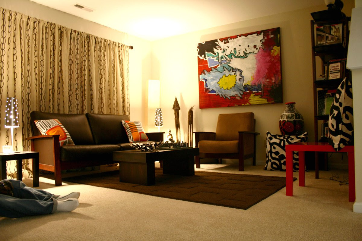 SingleBubblePop: rachel's living room makeover