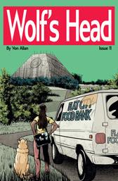 Wolf's Head Issue 11 cover by Von Allan