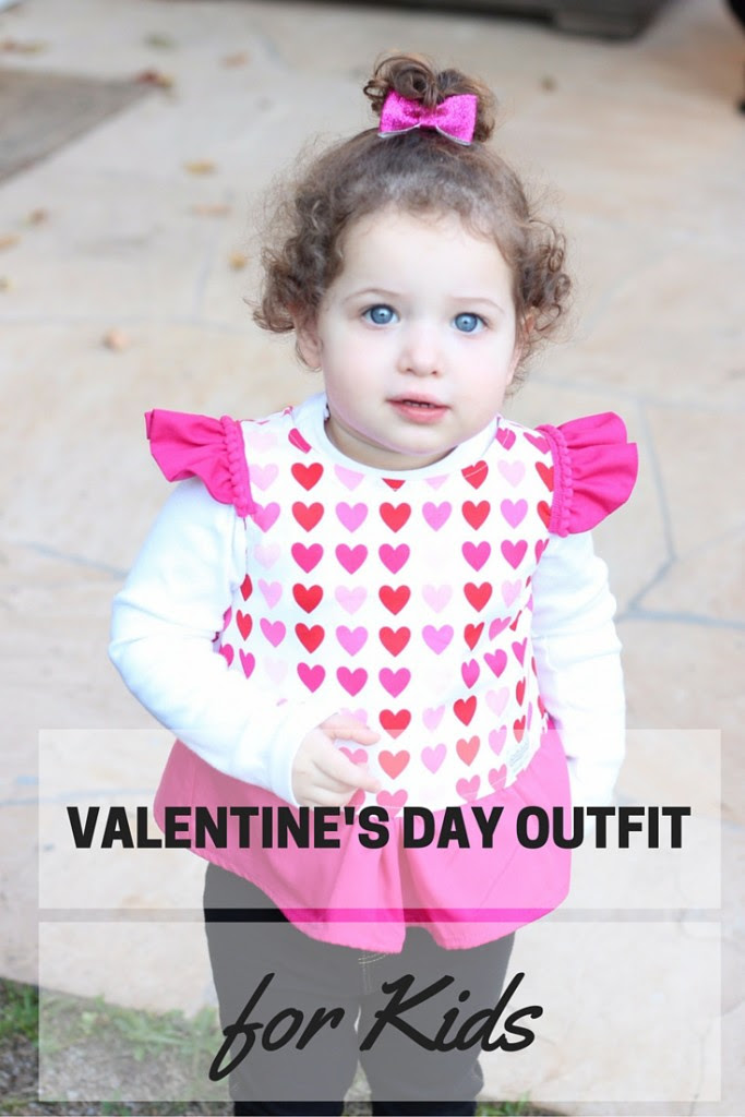 A Valentines Day Outfit Idea For Kids The Cuteness