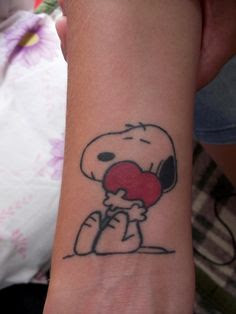 Snoopy Tattoo Images & Designs
