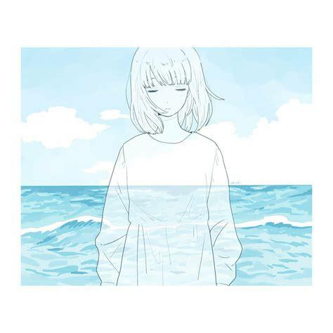 violett  twitter sea girls animegirl anime