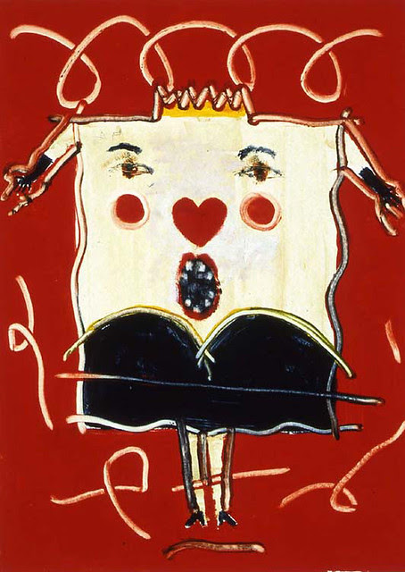 Queen of Harts in Red Field