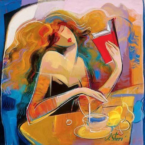βιβλίο, ζωγραφική, τέχνη