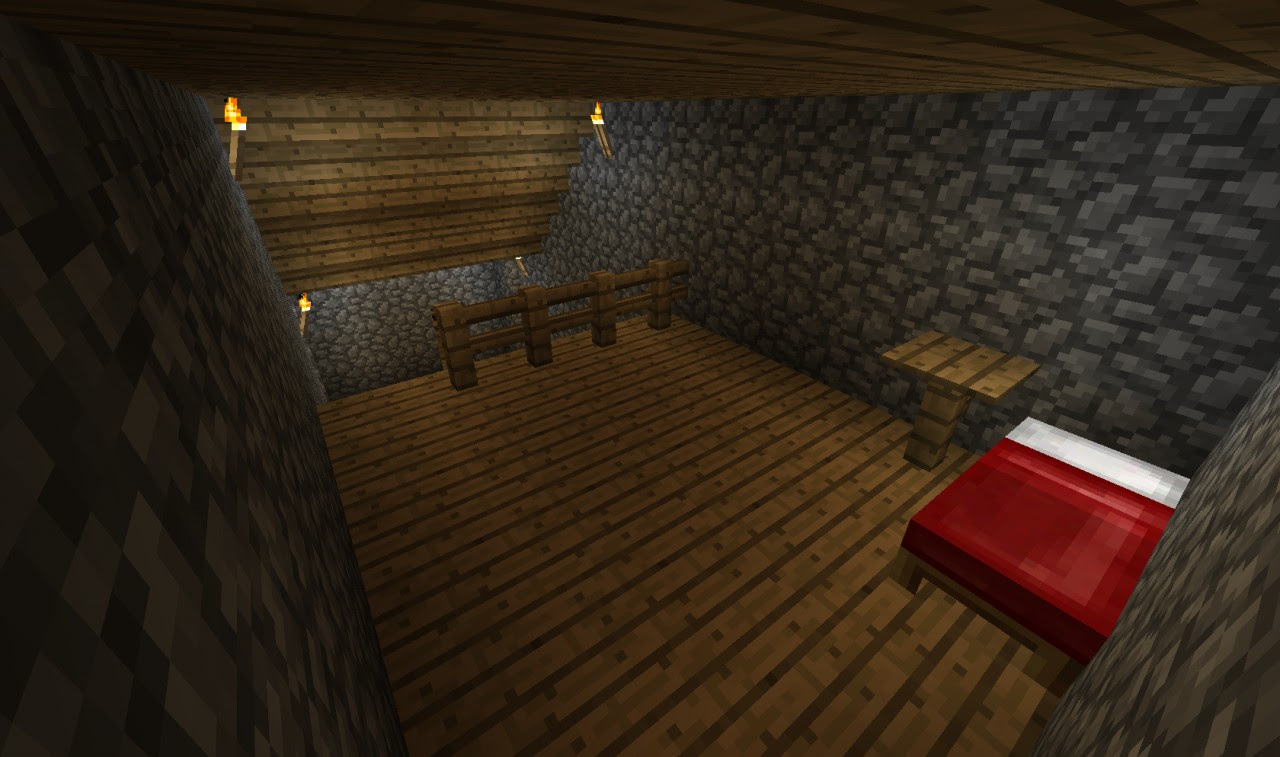 Cool Overhang/Underground house Minecraft Project