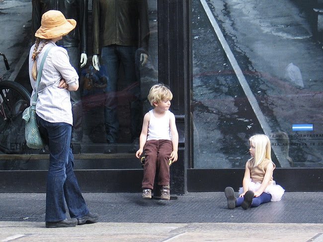 Family in Soho