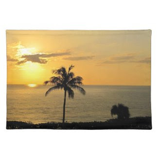 Sunrise in Paradise Placemats