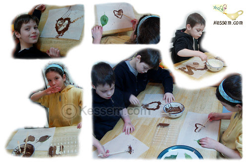 Drawing with Chocolates
