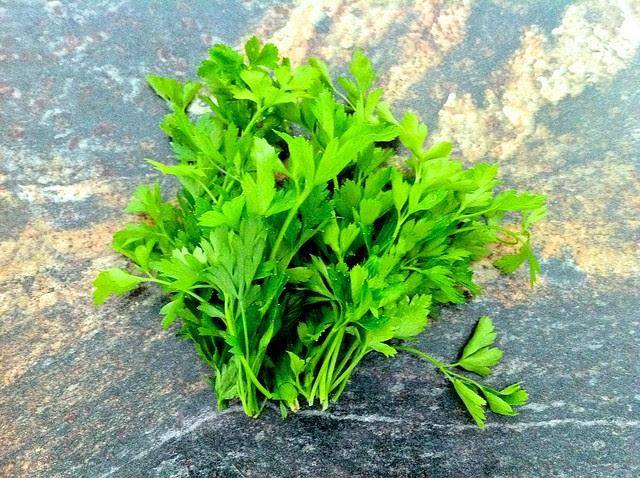 Large Handful of Fresh Flat-Leaf Parsley