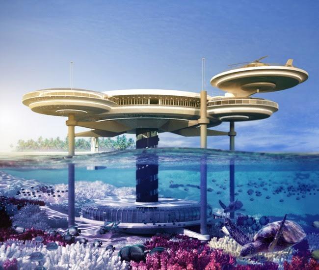 World's Amazing Futuristic Underwater Resort Hotels   ZDWired