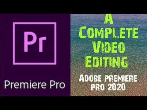 adobe premiere pro video editing complete series
