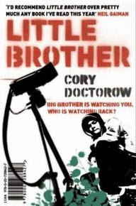 Cover image of the 2008 novel titled Little Brother by Cory Doctorow