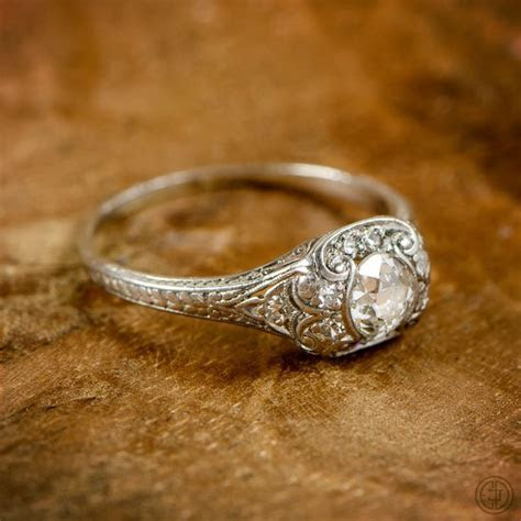 1000  ideas about Antique Wedding Rings on Pinterest