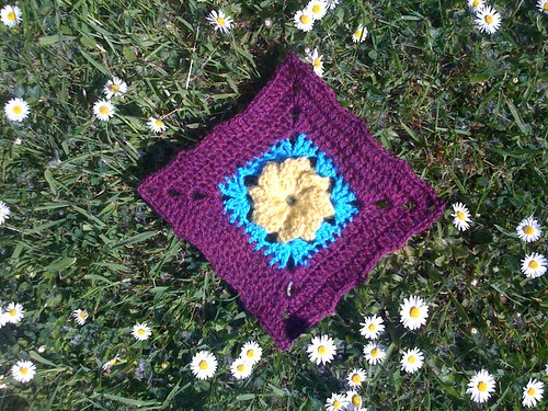 Pretty Flower Squares from Lulabelle 1967