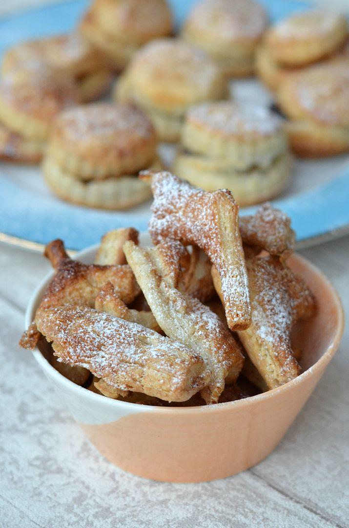 cinnamon puff pastry scraps