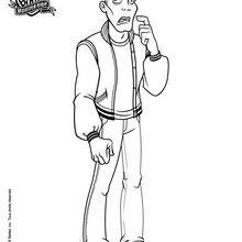 Dibujos Para Colorear Señor Hackington Eshellokidscom