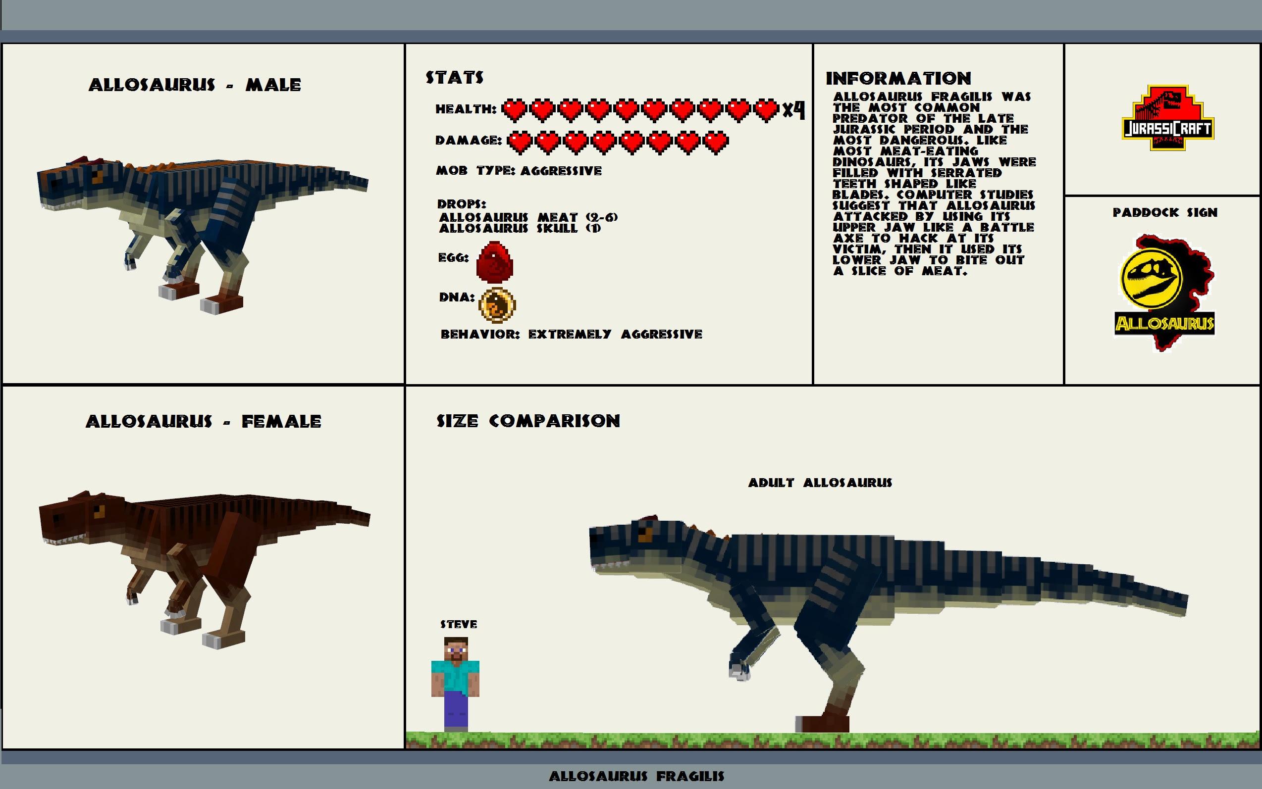 Minecraft Jurassic Park Texture Pack - Muat Turun 8