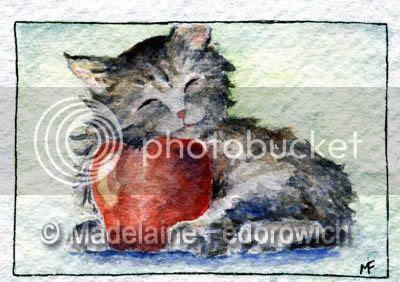 Kitten ACEO