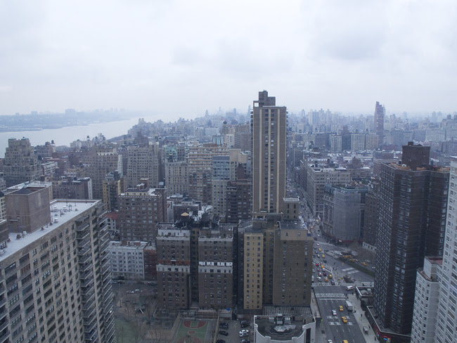 Looking North on the Upper West Side