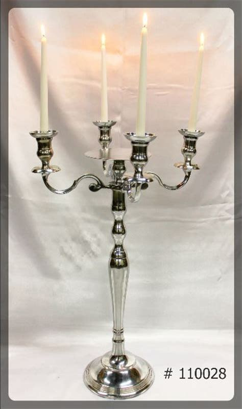 Silver Candelabra Rentals   Wedding Decor Toronto