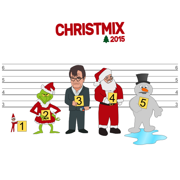 2015 Christmix album cover