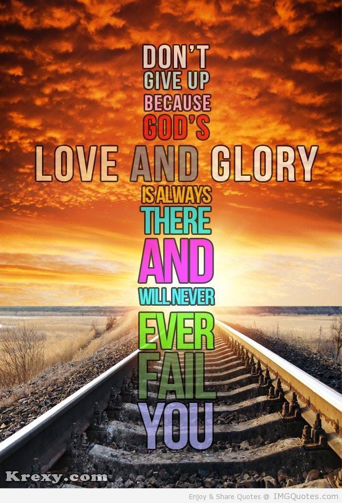 Quotes About Giving God The Glory 33 Quotes