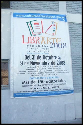 Librarte 2008_Feria del libro