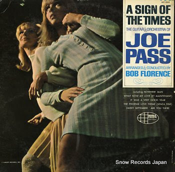 PASS, JOE sign of the times, a