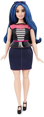Barbie Fashionistas Doll 27 Sweetheart Stripes - Curvy